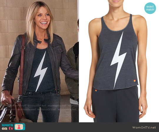 Aviator Nation Bolt Tank worn by Mackenzie Murphy (Kaitlin Olson) on The Mick