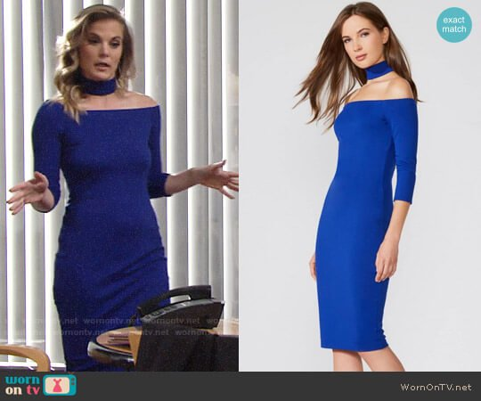 Bailey 44 Drama Queen Dress worn by Gina Tognoni on The Young & the Restless
