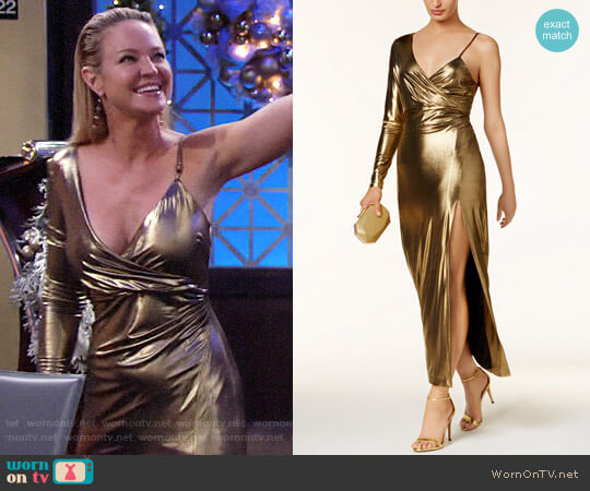 Bardot Aurel Dress worn by Sharon Collins (Sharon Case) on The Young & the Restless