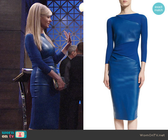 Chiara Boni La Petite Robe Malila Dress worn by Ashley Abbott (Eileen Davidson) on The Young & the Restless
