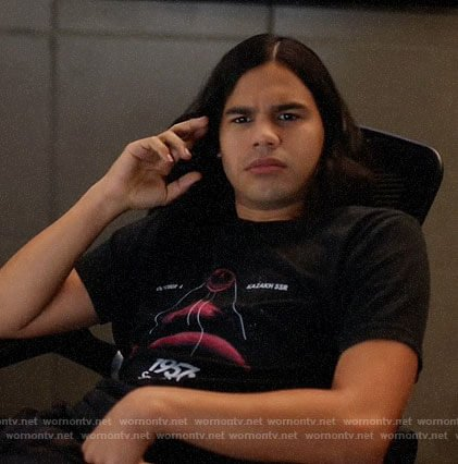 Cisco's Sputnik t-shirt on The Flash