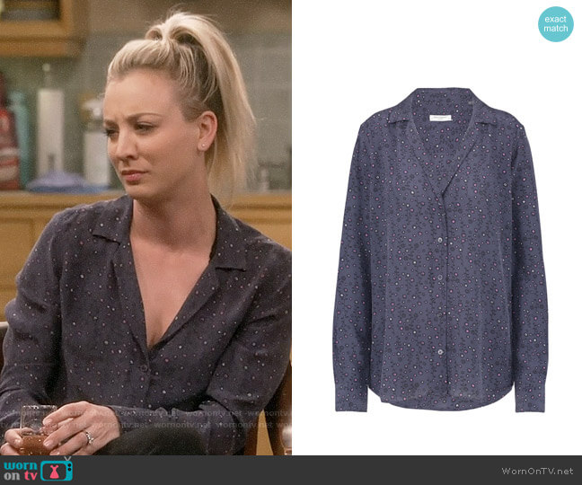 Equipment Adalyn Shirt worn by Penny Hofstadter (Kaley Cuoco) on The Big Bang Theory