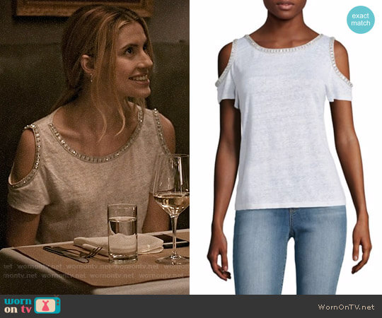 Generation Love Cindy Top worn by Wallis Currie-Wood on Madam Secretary