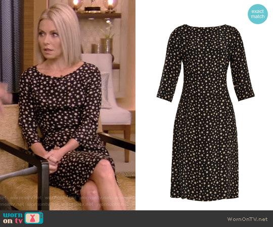 'Clara' Dress by Harley Viera Newton worn by Kelly Ripa on Live with Kelly & Ryan