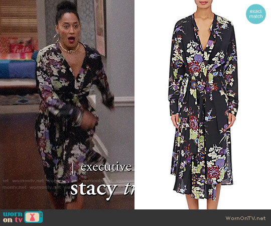 Isabel Marant Iam Dress worn by Rainbow Johnson (Tracee Ellis Ross) on Blackish