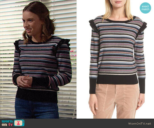 Joie Cais Sweater worn by Coco Spectra (Courtney Grosbeck) on The Bold & the Beautiful