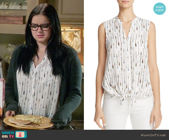 Joie Edalette top worn by Alex Dunphy (Ariel Winter) on Modern Family