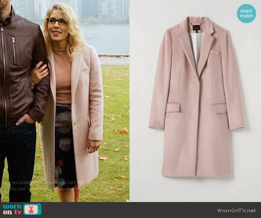 Judith & Charles Huston Coat worn by Emily Bett Rickards on The Flash