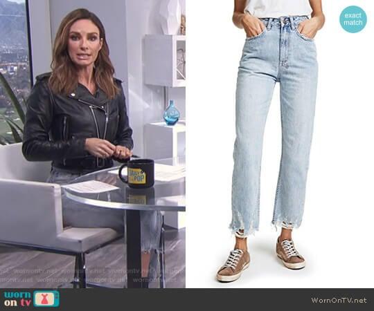 'Chlo' Jeans by Ksubi worn by Catt Sadler  on E! News