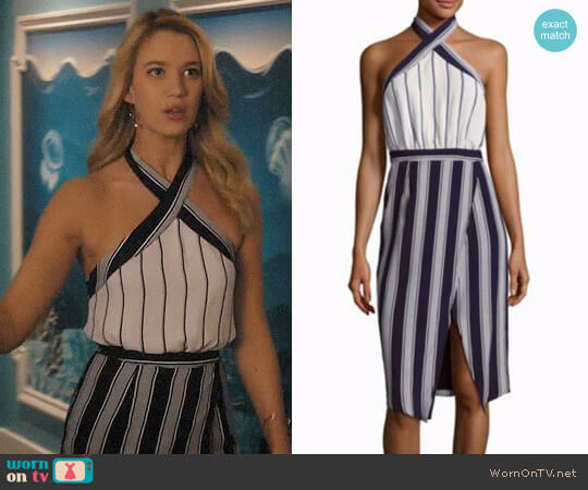 Lovers + Friends Noemi Dress worn by Yael Grobglas on Jane the Virgin