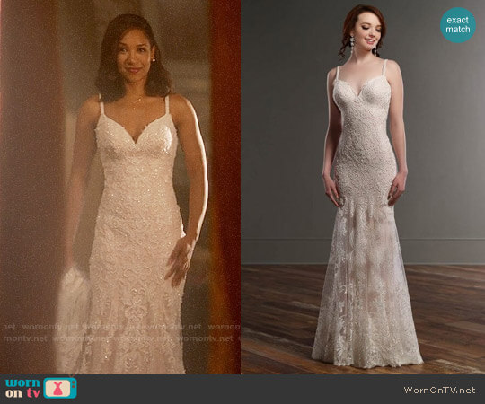 Martina Liana 819 Wedding Dress worn by Candice Patton on The Flash