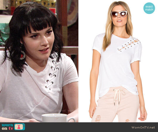 N:Philanthropy Gaia Tee worn by Cait Fairbanks on The Young & the Restless