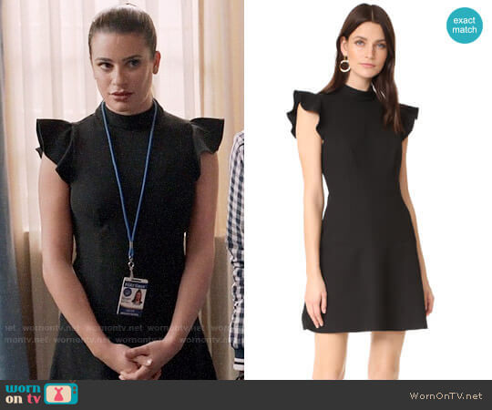 Parma Dress by Rachel Zoe worn by Valentina Barella (Lea Michele) on The Mayor
