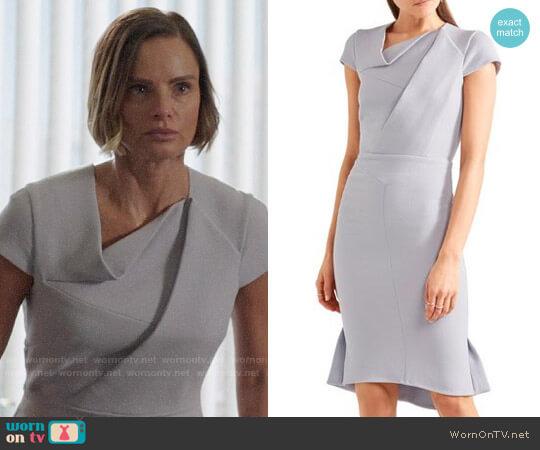 Roland Mouret Farrant Dress worn by Victoria Belfry (Gabrielle Anwar) on OUAT