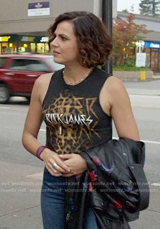 Roni's Rick James tank top on Once Upon a Time