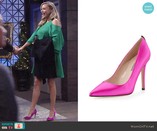 SJP by Sarah Jessica Parker Fawn Pointed-Toe Pump worn by Abby Newman (Melissa Ordway) on The Young & the Restless