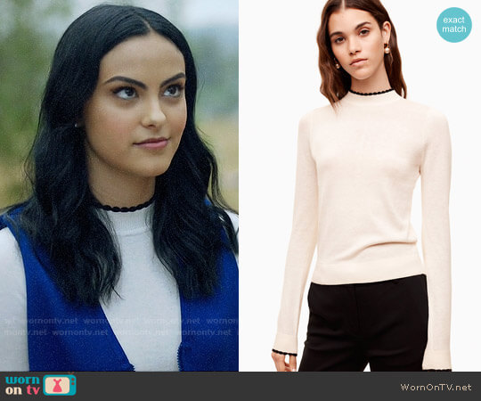 Sunday Best Cher Sweater worn by Camila Mendes on Riverdale