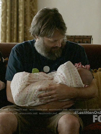 Tandy's planet graphic tee on Last Man on Earth