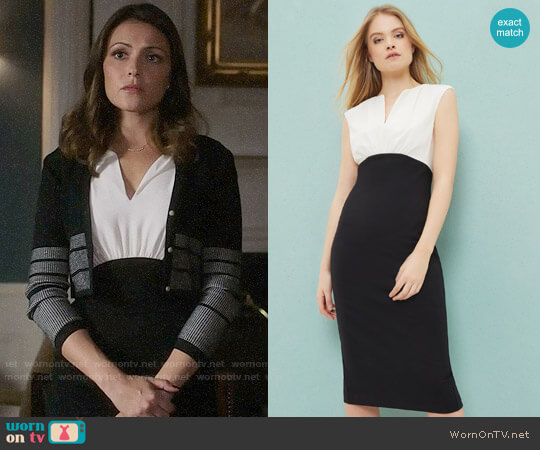 Ted Baker Adeba Dress worn by Italia Ricci on Designated Survivor