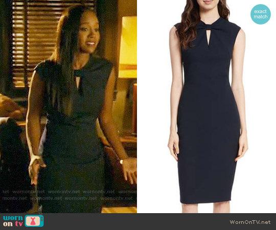 Ted Baker Kezzia Dress worn by Michaela Pratt (Aja Naomi King) on HTGAWM