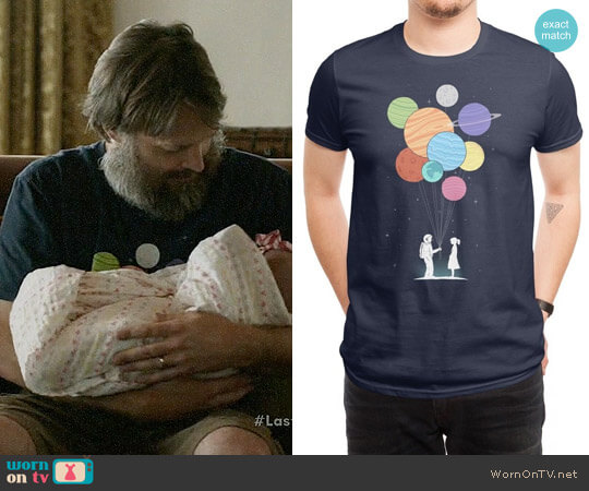 Threadless You Are My Universe T-shirt  worn by Will Forte on Last Man On Earth
