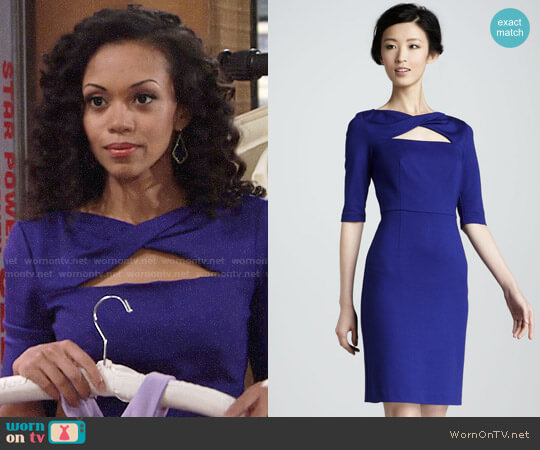 Trina Turk Romanova Dress worn by Mishael Morgan on The Young & the Restless
