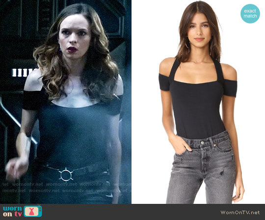 Twenty Tees Stanley Thong Bodysuit worn by Caitlin Snow (Danielle Panabaker) on The Flash