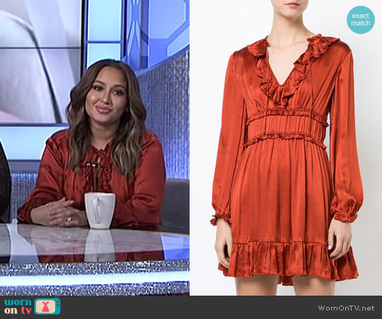 'Callista' Dress by Ulla Johnson worn by Adrienne Houghton on The Real