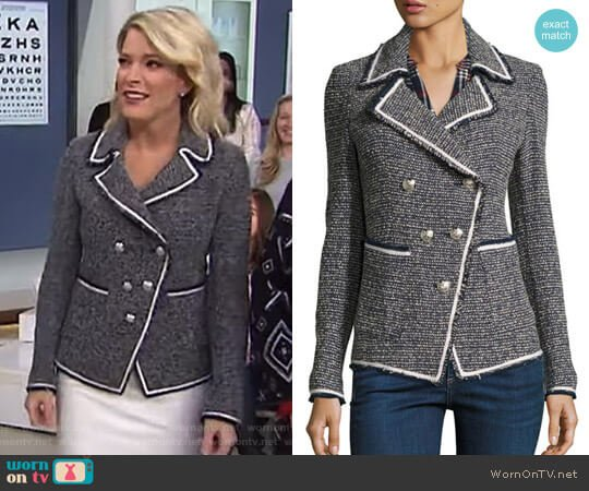 'Carroll' Jacket by  Veronica Beard worn by Megyn Kelly (Megyn Kelly) on Today