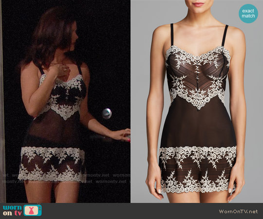 Wacoal Embrace Lace Chemise worn by Katie Logan (Heather Tom) on The Bold & the Beautiful