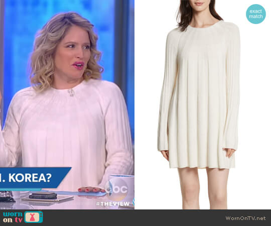 Gerri Knit Swing Dress by Elizabeth and James worn by Sara Haines on The View