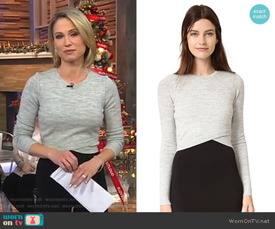 'Ford' Sweater by A.L.C. worn by Amy Robach on Good Morning America