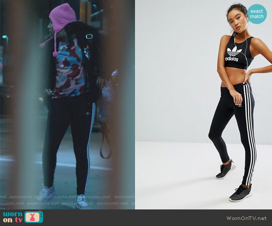 Originals Adicolor Leggings With 3 Stripe by Adidas  worn by Allegra Acosta on Marvels Runaways