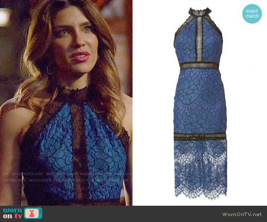 Alexis Julianna Lace Dress worn by Juliana Harkavy on Arrow