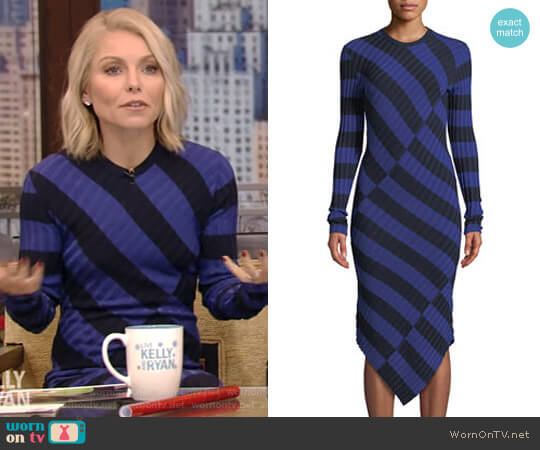 'Whistler' Dress by Altuzarra worn by Kelly Ripa on Live with Kelly & Ryan