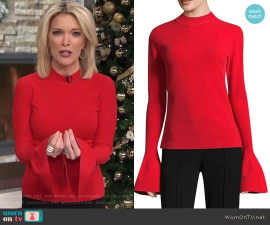 Bell Sleeve Sweater by Diane von Furstenberg worn by Megyn Kelly  on Today