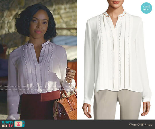 'Fontaine' Blouse by Elie Tahari