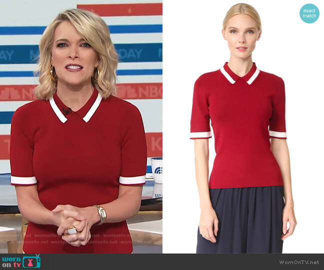 Polo Shirt by Jason Wu Grey worn by Megyn Kelly on Today