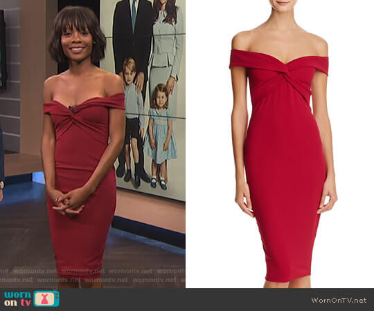 'Dolly' Dress by Nookie worn by Zuri Hall on E! News