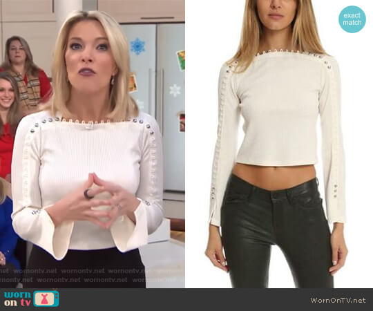 Ribbed Long Sleeve Top by 3.1 Phillip Lim worn by Megyn Kelly  on Today