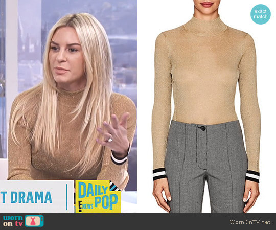 'Priya' Top by Rag & Bone worn by Morgan Stewart on E! News