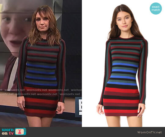 'Lorena' Dress by Ronny Kobo worn by Catt Sadler on E! News