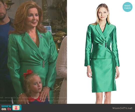 Rob Skirt Suit by Tahari ASL worn by Suzanne Rogers on Days of our Lives