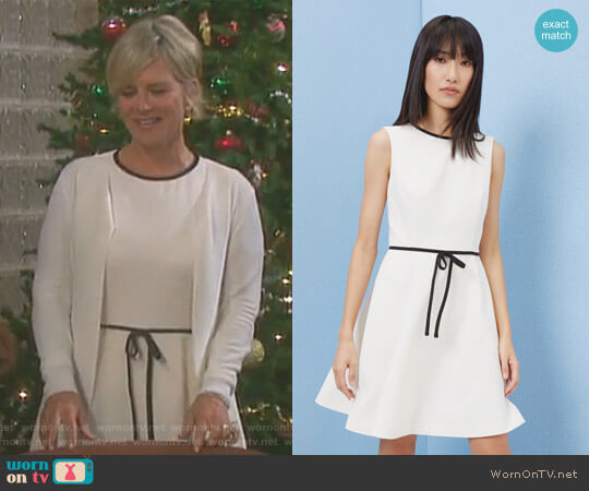 'Saydey' Bow Detail Skater Dress by Ted Baker worn by Kayla Brady (Mary Beth Evans) on Days of our Lives