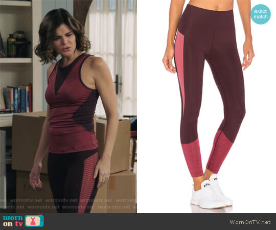 Train Ult Tight by Adidas by Stella McCartney worn by Betsy Brandt on Life in Pieces