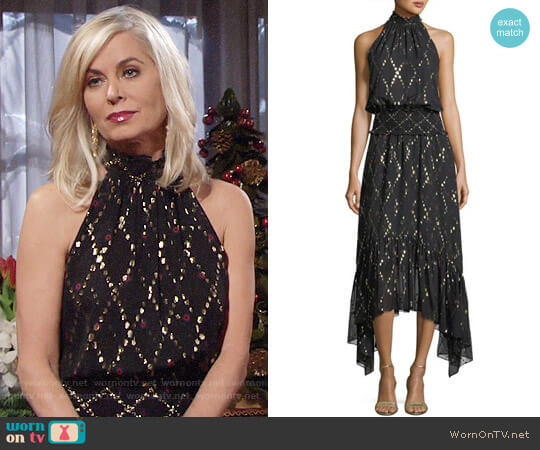 ALC Easton Dress worn by Ashley Abbott (Eileen Davidson) on The Young & the Restless