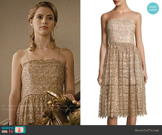 Alice + Olivia Alma Dress worn by Wallis Currie-Wood on Madam Secretary