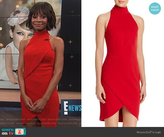 'Orei' Dress by Bailey 44 worn by Zuri Hall on E! News