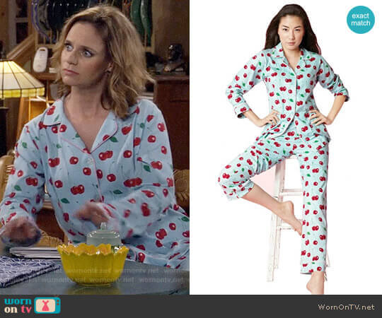Bedhead Cherry Hearts PJ Set worn by Kimmy Gibbler (Andrea Barber) on Fuller House