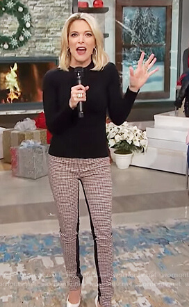 Megyn's plaid pants on Megyn Kelly Today